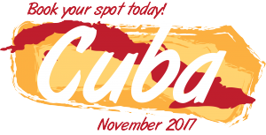 Book your spot today! Cuba, November 2017